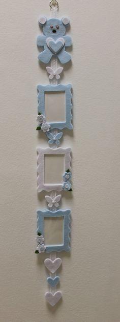 Risultati immagini per baby photo frame fommy feltro
