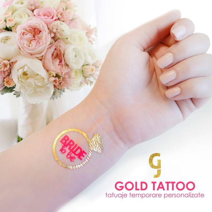 Temporary jewelry tattoo for brides! Bride tattoos