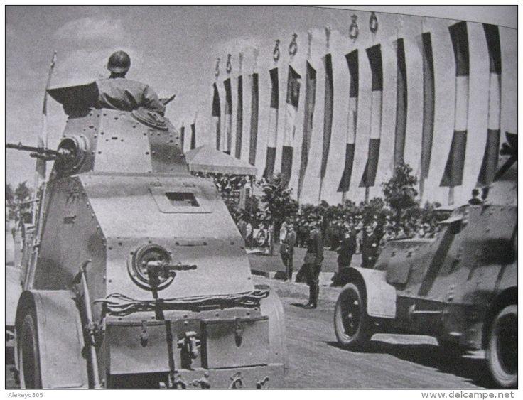 Polish Ursus armoured car WZ29.