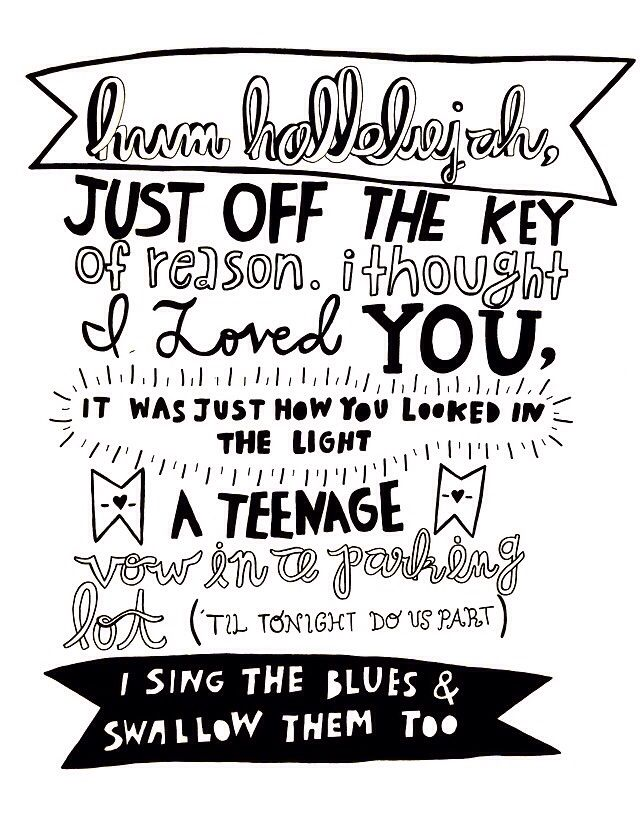 Fall out boy lyrics Hum hallelujah