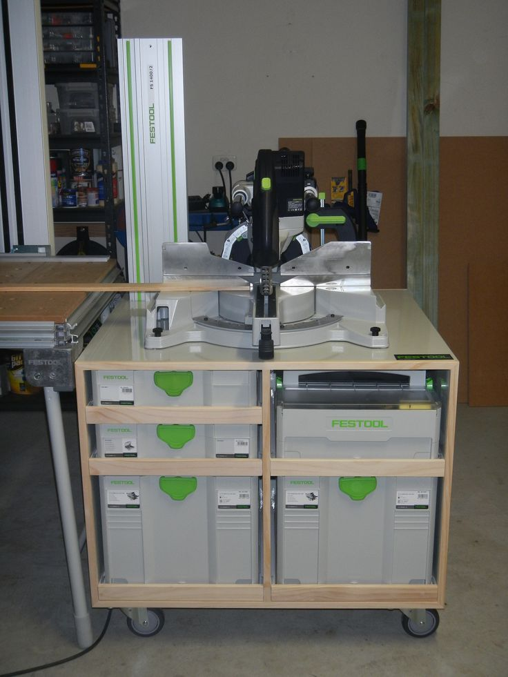 First Project Kapex Stand and Sysport. microworkshopsystems. Festool