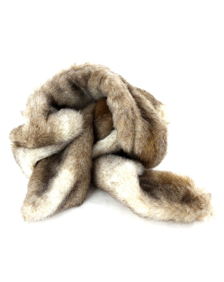 Anastasia Scarf in Rabbit by Kate Sylvester - Jewellery, Scarves and Hats - Accessories