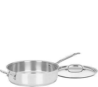 Cuisinart 5.5-qt Covered Saute Pan