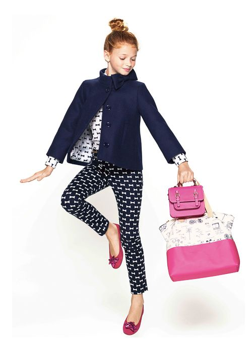Photo from The College Prepster | Gap Kids x Kate Spade