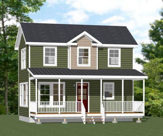 Two Story Tiny House Plan: 177 Best Images About Small Home Plans On Pinterest