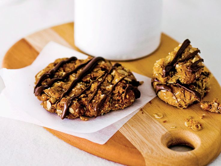 Try this chocolatey twist on the classic ANZAC biscuit. So good they won't last long!