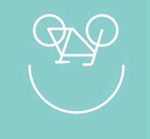 Sonrisa en bici