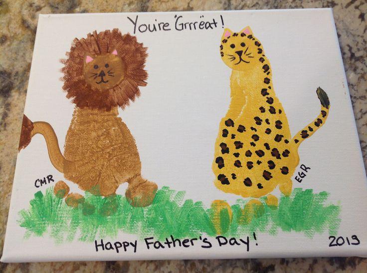 Lion and Cheetah footprints