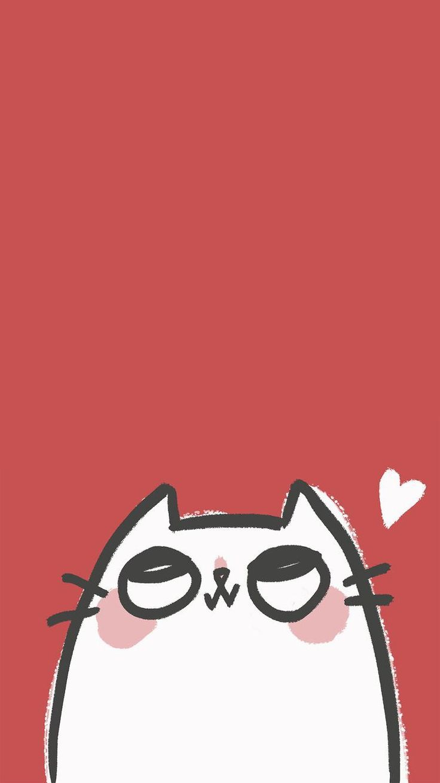 #iPhone #iPhone_wallpaper #cute #red