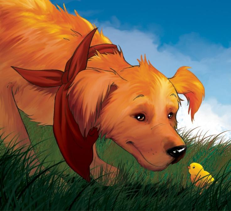 Fairy Oak-Barolo: a good natured dog