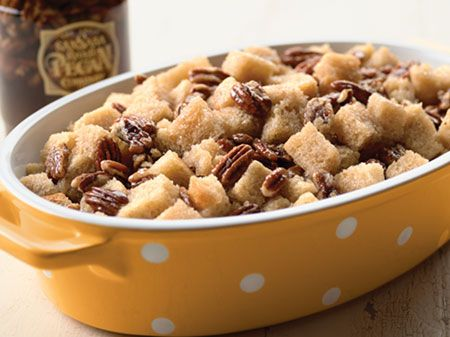 New Orleans Pecan Pie Bread Pudding: Eating Breads, In A Jars, Pecans Pies, Norleansbrdpud 450W, Mothers House, Bread Puddings, Pies Breads, Breads Puddings, Orleans Pecans