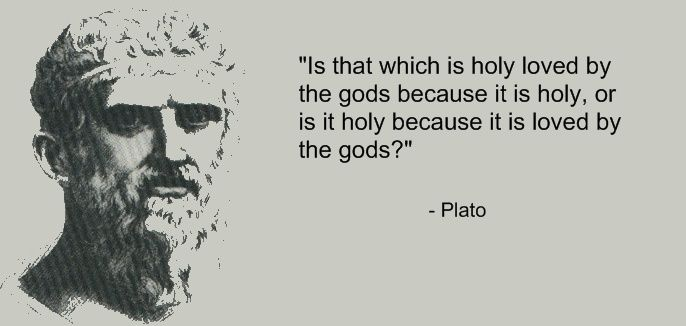 Plato - The Euthyphro Dilemma
