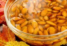 Tips for beginners on why we soak raw nuts, how to soak raw nuts, and raw nut soaking times.