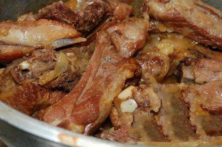 Coaste de porc înăbușite - carne mai fragedă și mai suculentă nu am gătit! Este o rețetă unică! - Bucatarul