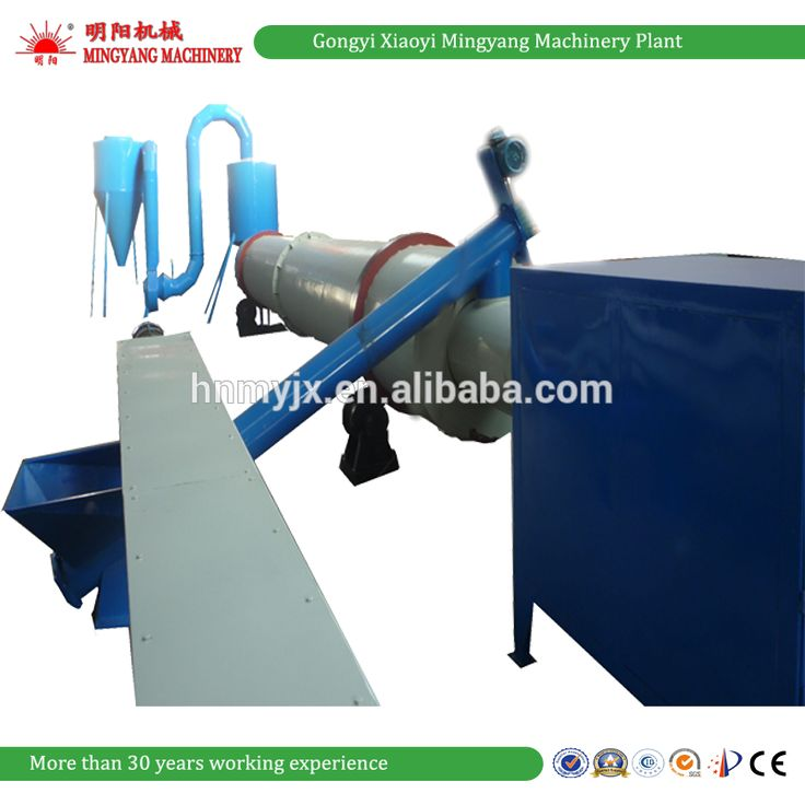 China wood sawdust rotary dryer for sale from Gongyi Xiaoyi Mingyang Machinery Plant