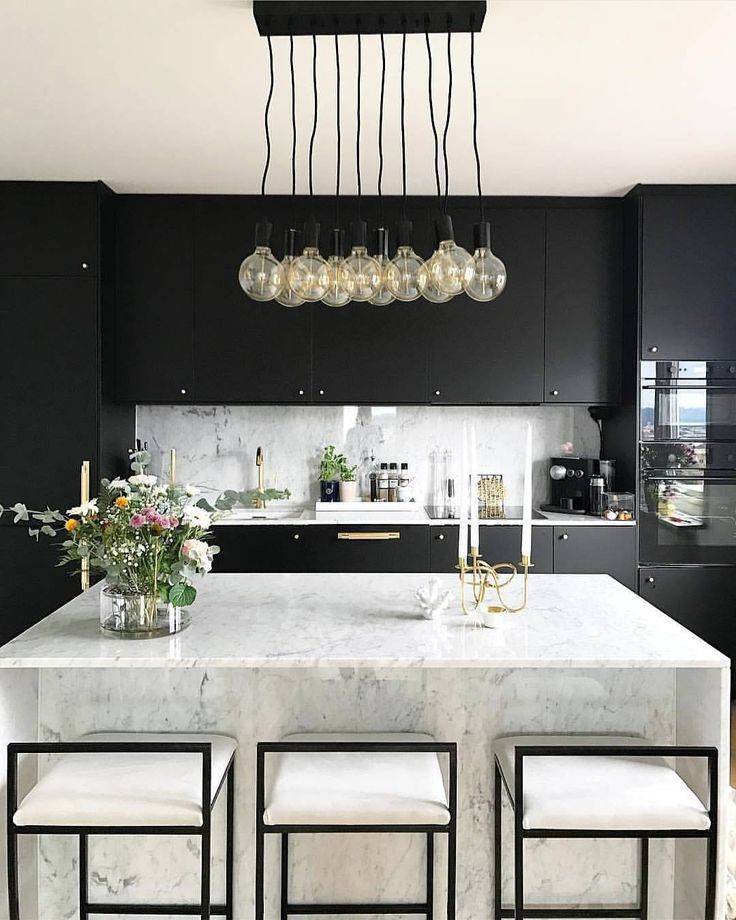 This lighting is perfect for a modern kitchen.