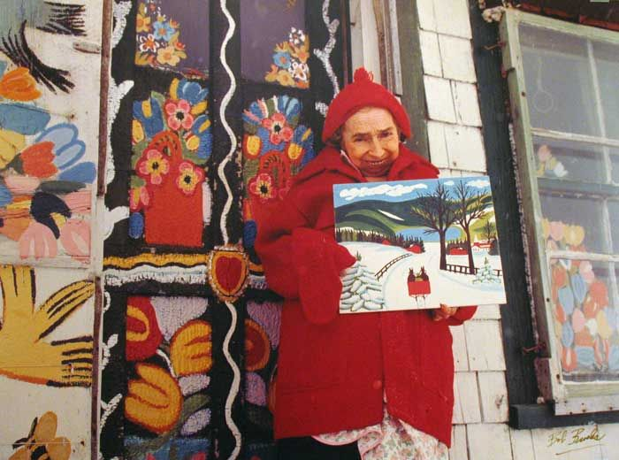 Maud Lewis - 1903-1970. A great Nova Scotian artist!