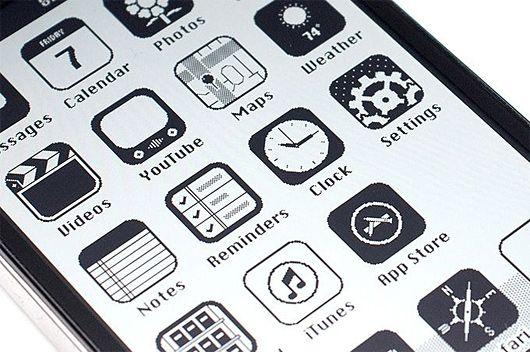 iOS '86: The Macintosh iPhone by Anton Repponen  Retro-inspired iPhone interface by Russian Creative Director Anton Repponen.