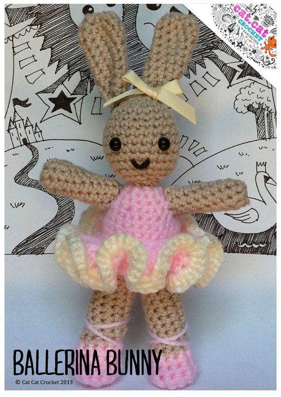 Ballerina Bunny Crochet Pattern & Tutorial