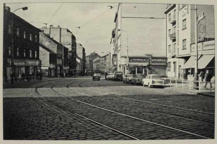 Praha ŽIŽKOV Koněvova ul. 1972