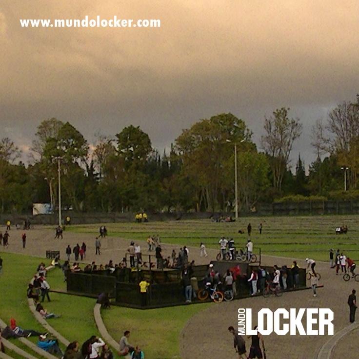 #DeportesExtremos #Plataforma #Biketrial #Atardecer #Parque