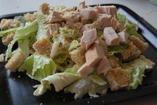 Mandy kertje és konyhája: Cézár saláta