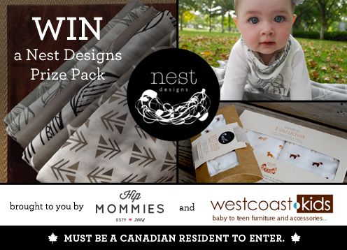WIN Nest Designs prize pack with west coast kids @hipmommies