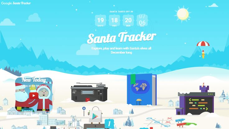 Google Santa Tracker is live counting down the days until Christmas with holiday games & resources http://ift.tt/2An4Ukx