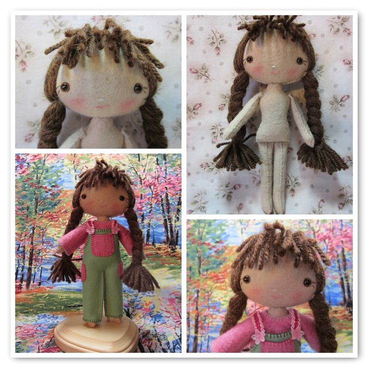 Free Fabric Doll Patterns | Sometimes I can be a bit obsessive :-)