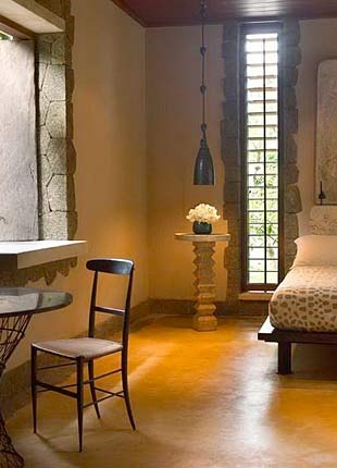 Tropical Luxury Villa Bedroom: Luxury Villa, Window Treatments