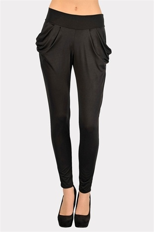 drape pants.... they should have left these god awful ugly mc hammer looking pants back in the 80's where they belong !