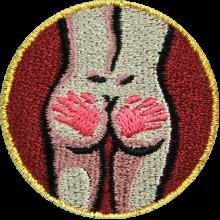 "Who's ready to earn their ""Spanking Merit Badge""?"