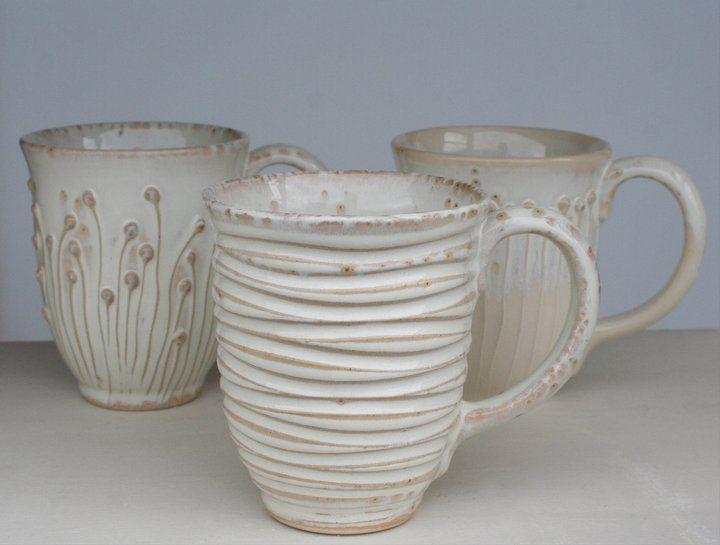 Ceramic Mugs Cool Ideas Ceramics On The Wheels Ceramica Design