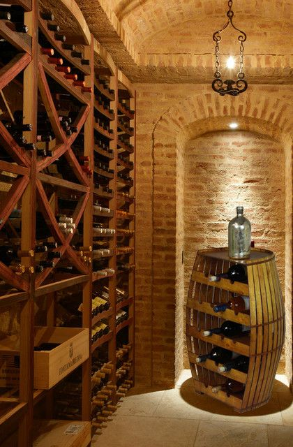 Features:  -Color finish: Light Brown.  -Great wine storage rack.  -Material: Solid wood and Polywood.  Product Type: -Wine bottle rack.  Finish: -Solid wood.  Material: -Wood.  Hardware Material: -Wo