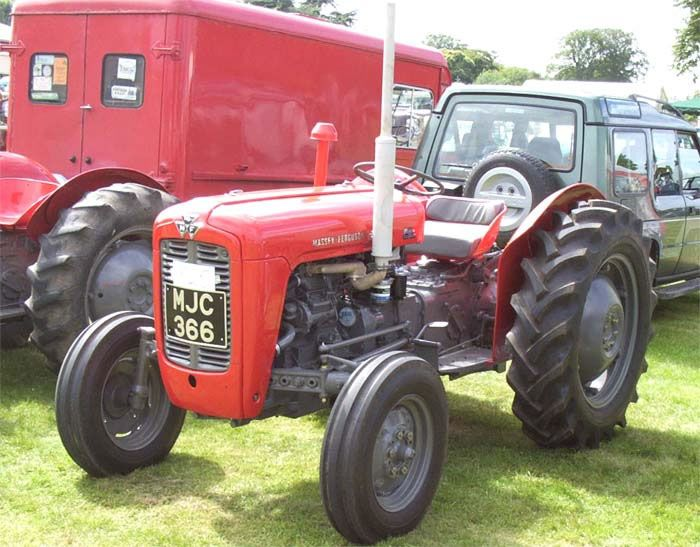 Old Cylinder Tractor : Best massey ferguson tractors images on pinterest