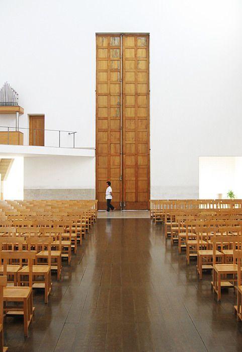Santa Maria Church, Marco de Canavezes. Álvaro Siza Vieira