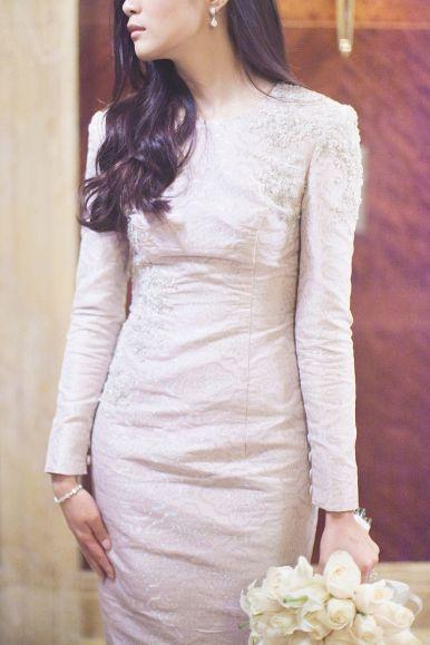 Syomir Izwa's Songket Dress - Gorgeous!