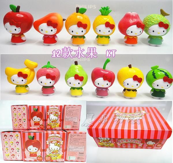 Cheap gift silk, Buy Quality gift bos directly from China gift card service provider Suppliers: Free Shipping Hello Kitty Toys Kitty Cat Fruit Style PVC Action Figure Model Toys Dolls 12pcs/set Christmas Gifts KTFG010