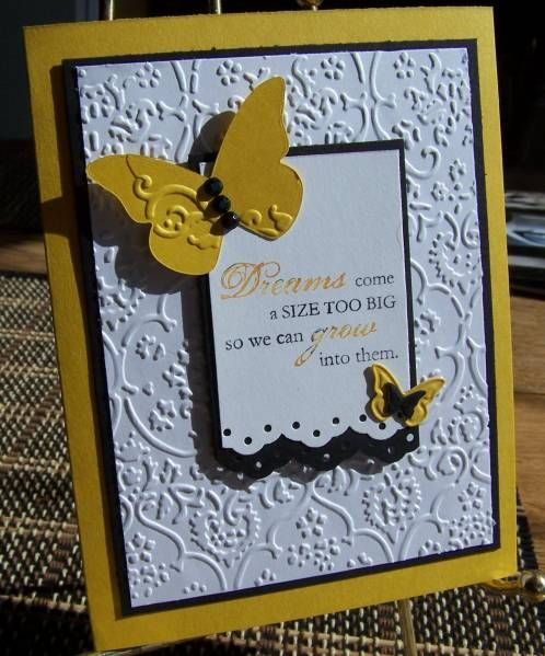 Grad 2010-1 Happy Harmony Stampin Up Card