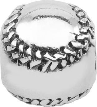"""Persona Sterling Silver """"Fastball"""" Charm H12263P1"""
