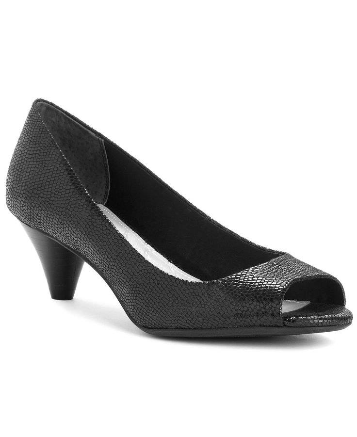 Bomba Wow Mid-Heel para mujer, Negro, 12M