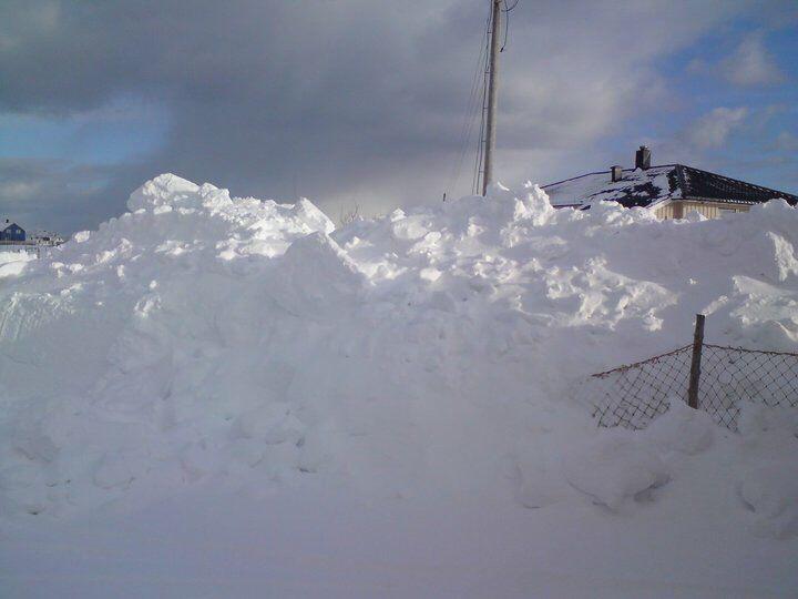 Winter in Røst Norway
