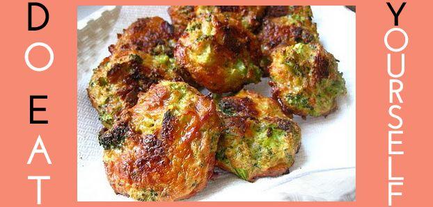 Do Eat Yourself : Les bouchées aux brocolis
