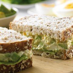 Ei en Avocado Sandwiches - http://www.facebook.com/watzijzegt