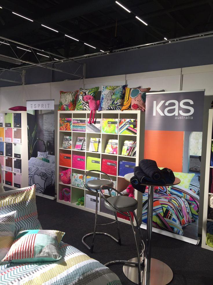 Kas stand at Swiss Heimtex exhibition #loveKas