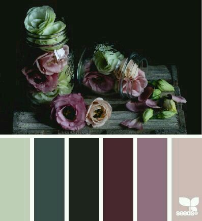 A muted purple palette, one that people could actually tolerate in my house LMAO