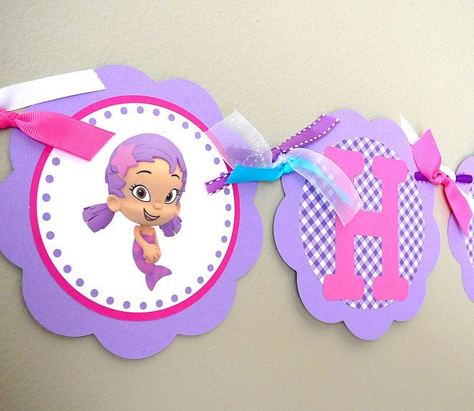 21 best bubble guppies images on Pinterest | Birthday party ideas ...