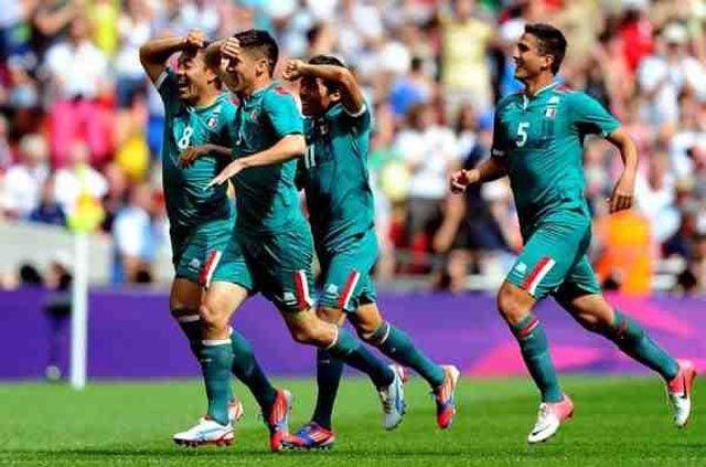 México medalla de oro futbol Londres 2012