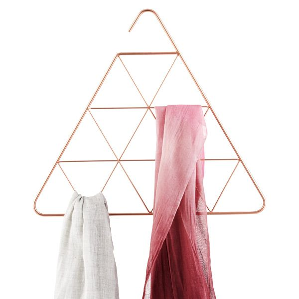 Triangle Pendant Scarf Organizer by Umbra