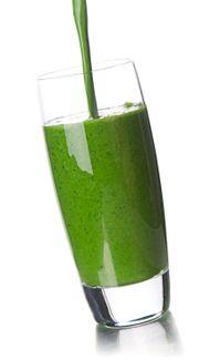Suco verde para desintoxicacao.